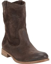 NDC - Perforated Tiffany Boots - Lyst