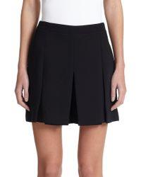 Proenza Schouler Pleated Cloque Skirt - Lyst