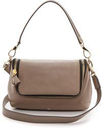 Anya Hindmarch Maxi Zip Cross Body Bag Medium Grey - Lyst