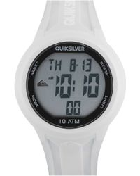Quiksilver - 'the Barrel' Silicone Strap Watch - Lyst