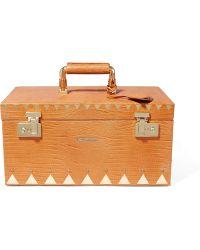 Eddie Borgo - Croc-effect Leather Jewelry Case - Lyst