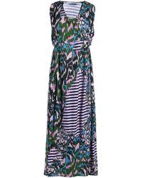 Matthew Williamson 3/4 Length Dress green - Lyst