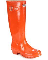 Hunter | Gloss-finish Original Rain Boots | Lyst