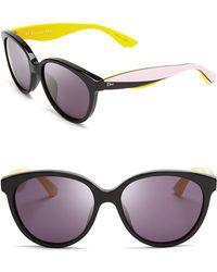 Dior Envol 3 Cat Eye Sunglasses - Lyst