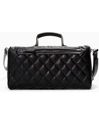 Zara Quilted Bowling Bag - Lyst