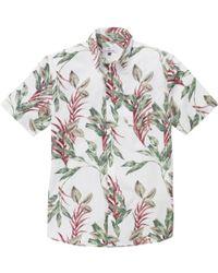 Hentsch Man White Floral Steve Shirt - Lyst