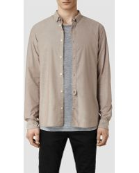 AllSaints Madsen Shirt - Lyst