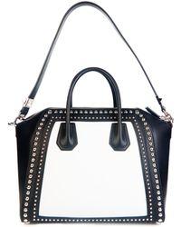 Givenchy Antigona Studded Medium Leather Tote - Lyst