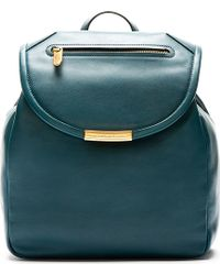Marc By Marc Jacobs Deep Teal Leather Luna Backpack - Lyst