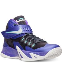 Nike Mens Zoom Soldier Viii Basketball Sneakers From Finish Line - Lyst