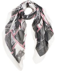 Look By M New York Scarf - Lyst