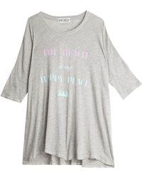 Wildfox Caption T-Shirt - Lyst