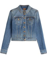 Burberry Brit Denim Jacket - Lyst