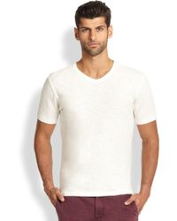Madison Supply Cotton Vneck Tee - Lyst