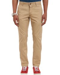 Grown & Sewn The Lincoln Skinny-Leg Trousers - Lyst