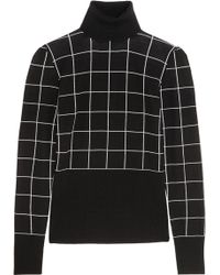 Duro Olowu - Checked Wool Turtleneck Sweater - Lyst