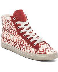 Kim & Zozi Red Gypster Sneaker - Lyst
