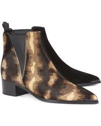 Acne Studios Nova Floralprint Court Shoes - Multicolour