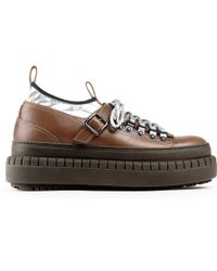 Acne Studios Hover Low Setter Green - Brown