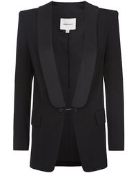 Pierre Balmain Chain Closure Wool Blazer - Lyst