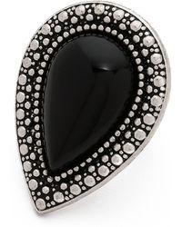 Samantha Wills - Bohemian Bardot Ring - Black/Silver - Lyst