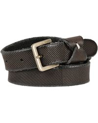 Pomandere Textured Leather Belt - Lyst