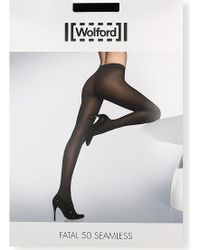 Wolford Fatal 50 Seamless Tights - Lyst
