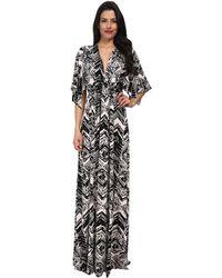 Rachel Pally Long Caftan Dress Print - Lyst