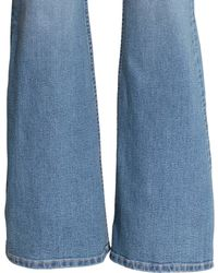 H&M Flare Superstretch Jeans - Blue