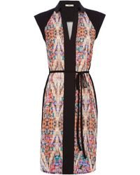 Oasis Kaleidoscope Shirt Dress multicolor - Lyst