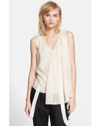 Band of Outsiders Rose Print Swing Tank - Lyst