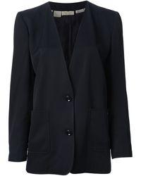 Valentino Vintage Vneck Jacket - Lyst