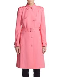 Versace Medusa Button Trenchcoat - Lyst