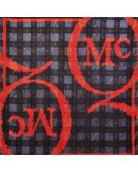 McQ by Alexander McQueen Mcq Logo Tartan Shawl 135x135 - Lyst