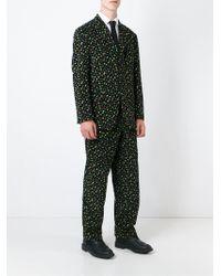 Moschino Calico Print Suit - Black