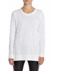 Lisa Perry Aline Popcorn Sweater - Lyst