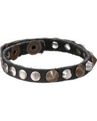 Diesel Black Alie Bracelet - Lyst