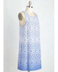 Sunny Girl Pty Lltd - The Hand You're Delft Dress - Lyst