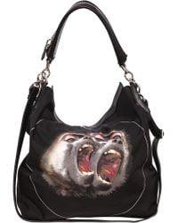 Givenchy - New Nightingale Monkeys Print Nylon Bag - Lyst
