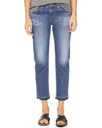 AG Adriano Goldschmied Ex Boyfriend Slim Jeans - 8 Years Turn blue - Lyst