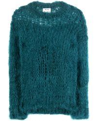 Acne Studios Moxa Mohair Sweater - Lyst