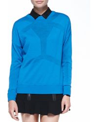 Robert Rodriguez Android Merino Seamed Sweater - Lyst