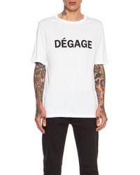 Blk Dnm Cotton Tshirt 17 - Lyst