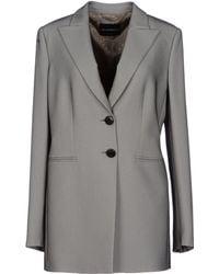 Emporio Armani Full-length Jacket - Lyst