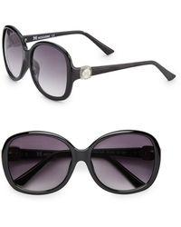 Missoni Oversized Round 59Mm Logo Link Sunglasses - Lyst