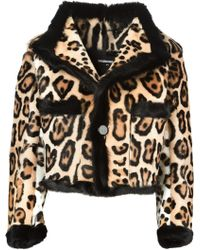DSquared2 Animal Leopard Jacket - Lyst