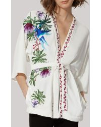 Maje Jacket - Ramses Embroidered - Lyst