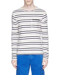Scotch & Soda | 'home Alone' Stripe T-shirt | Lyst
