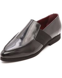 Opening Ceremony Anais Loafers Burgundy - Lyst