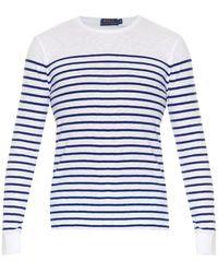 Polo Ralph Lauren Breton-Striped Long-Sleeved T-Shirt - Lyst